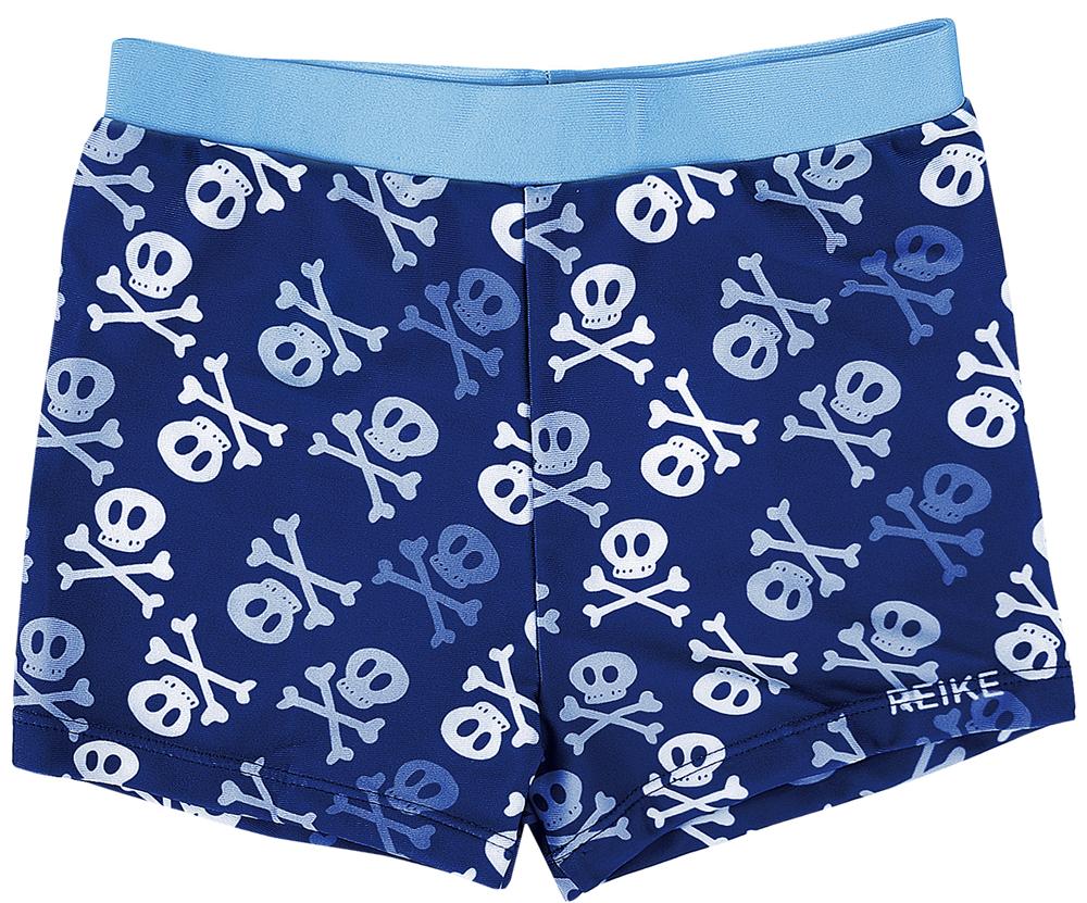Купальные плавки для мальчика Reike, цвет: темно-синий. RS18_BS2 navy. Размер 110, 5 лет