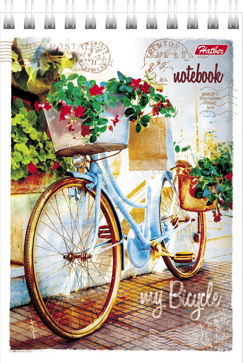 Hatber Блокнот Лето на велосипеде 80 листов41723Обложка - интегральный переплет, метализированный картон, упаковка индивидуальная.