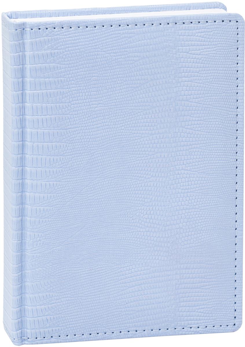 Hatber Ежедневник Tijus Iguana недатированный 176 листов цвет голубой формат А648116Недатированный ежедневник Tijus Iguana - неотъемлемый атрибут любого современногоделового человека. Настольный ежедневник позволит систематизировать входящуюинформацию и оптимизировать график встреч, не отходя от рабочего места.Материал обложки - качественный заменитель кожи, уплотненный поролоном, по краю -декоративная прострочка. Недатированный блок ежедневника не ограничен по сроку годности,его можно использовать на протяжении нескольких лет без привязки к году. Первая страницапредназначена для заполнения личной информации пользователя.На последних страницах ежедневника расположена телефонная книга и пустые страницы длязаметок. Ежедневник надежно скреплен сшитым переплетом.Ежедневник Tijus Iguana станет стильным и практичным аксессуаром, и займет достойное местона вашем рабочем столе.