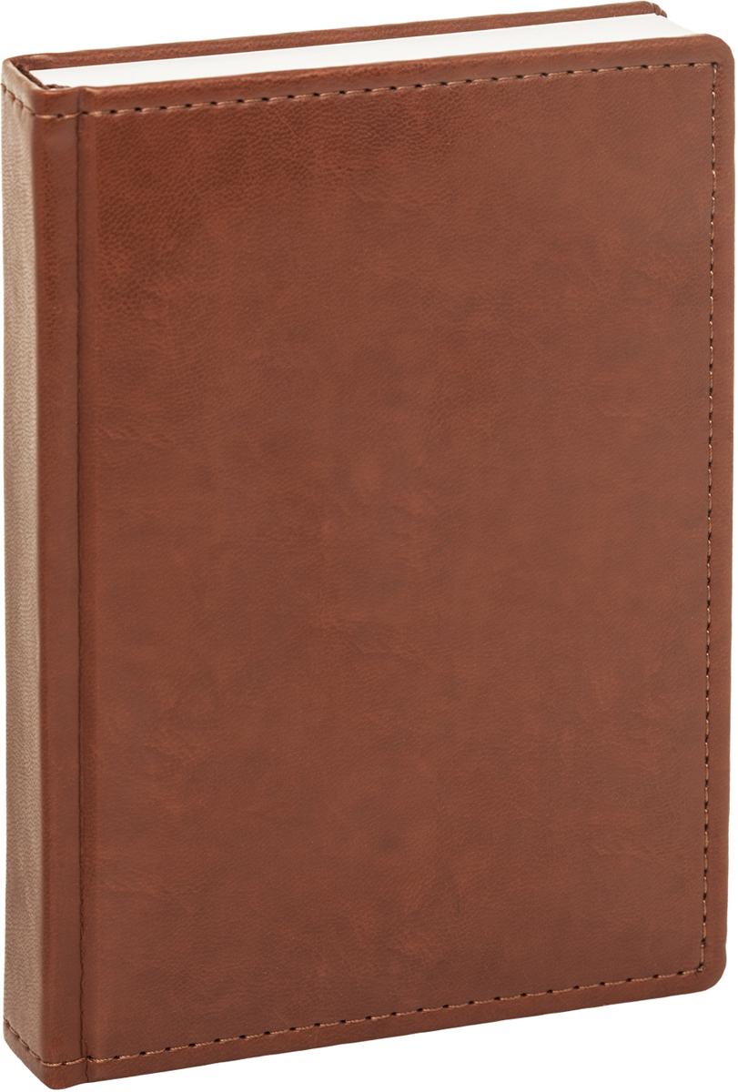 Hatber Ежедневник Caprice Prestige недатированный 176 листов цвет коричневый формат А6