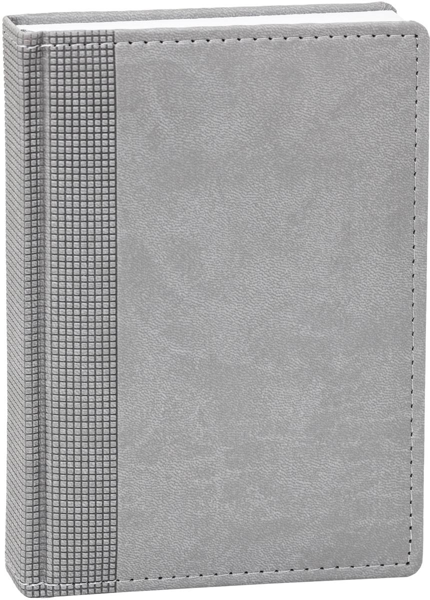 Hatber Ежедневник Winner Velvet недатированный 176 листов цвет серый формат А648092Недатированный ежедневник Vivella Velvet - неотъемлемый атрибут любого современногоделового человека. Настольный ежедневник позволит систематизировать входящуюинформацию и оптимизировать график встреч, не отходя от рабочего места.Материал обложки - качественный заменитель кожи, уплотненный поролоном, по краю -декоративная прострочка. Недатированный блок ежедневника не ограничен по сроку годности,его можно использовать на протяжении нескольких лет без привязки к году. Первая страницапредназначена для заполнения личной информации пользователя.На последних страницах ежедневника расположена телефонная книга и пустые страницы длязаметок. Ежедневник надежно скреплен сшитым переплетом.Ежедневник Vivella Velvet станет стильным и практичным аксессуаром, и займет достойноеместо на вашем рабочем столе.