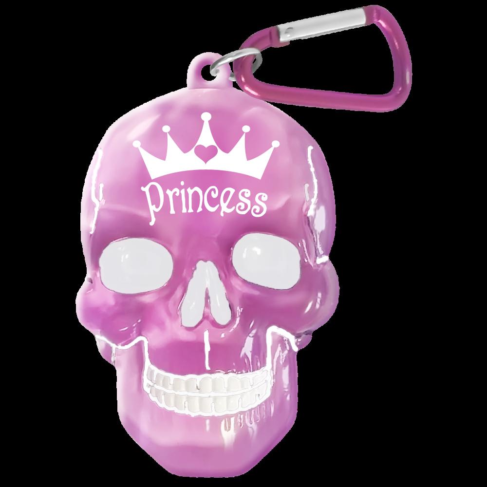 Брелок Би-Хэппи Череп. Princess, цвет: розовыйПолимерОригинальный брелок для ключей. Аксессуар выполнен в виде черепа и сразу привлекает внимание. Отличный сувенир для творческих и неординарных! Купить брелок череп можно себе или в подарок для близких, друзей или коллег.