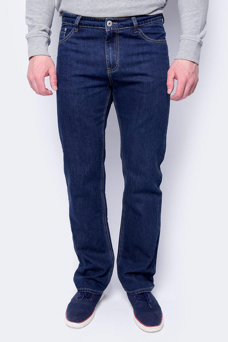 Джинсы мужские Sela, цвет: синий джинс. PJ-235/292-8263. Размер 36-32 (52-32)PJ-235/292-8263Стильные мужские джинсы Sela - брюки высочайшего качества на каждый день, которые прекрасно сидят. Модель прямого кроя и средней посадки изготовлены из высококачественного материала, не сковывают движения. Застегиваются джинсы на пуговицу и ширинку на застежке-молнии, имеются шлевки для ремня. Спереди модель оформлена двумя втачными карманами и одним небольшим секретным кармашком, а сзади - двумя врезными карманами на пуговицах.Эти модные и в тоже время комфортные джинсы послужат отличным дополнением к вашему гардеробу. В них вы всегда будете чувствовать себя уютно и комфортно.