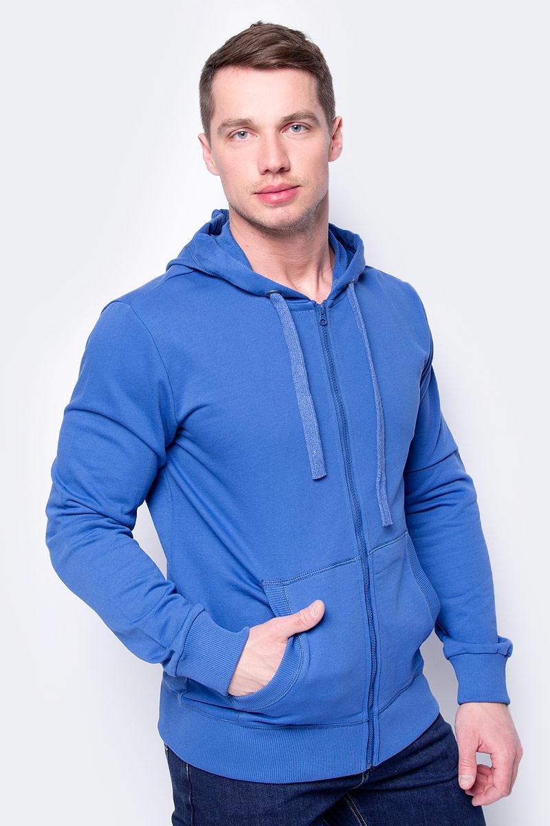 Жакет мужской Sela, цвет: яркий синий. Stc-213/840-8121. Размер XXL (54)