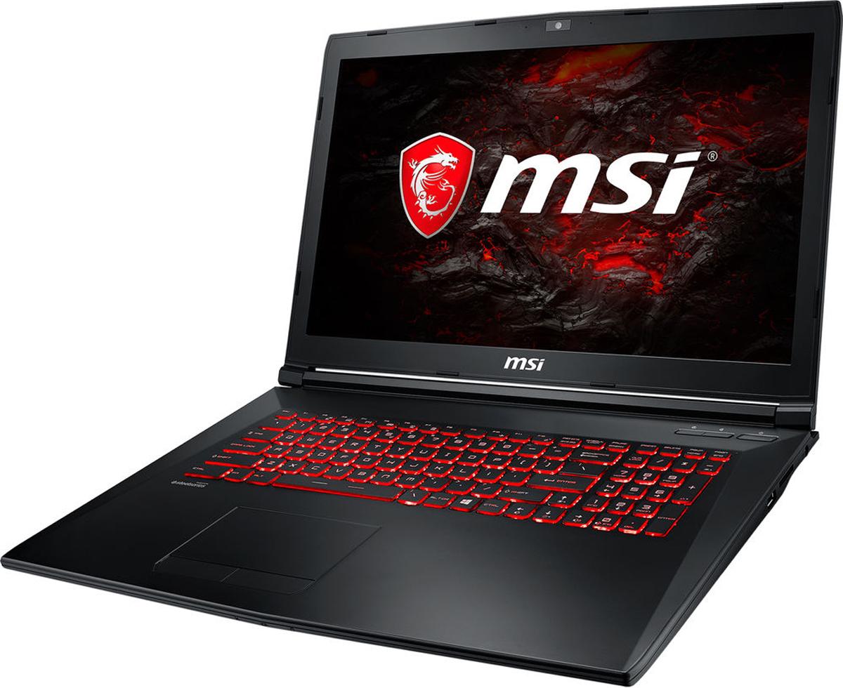 MSI GL72M 7RDX-1487RU, Black (9S7-1799E5-1487) ноутбук msi gp72m 7rdx 1017ru core i7 7700hq 8gb 1tb 128gb ssd nv gtx1050 4gb 17 3 fullhd win10 black