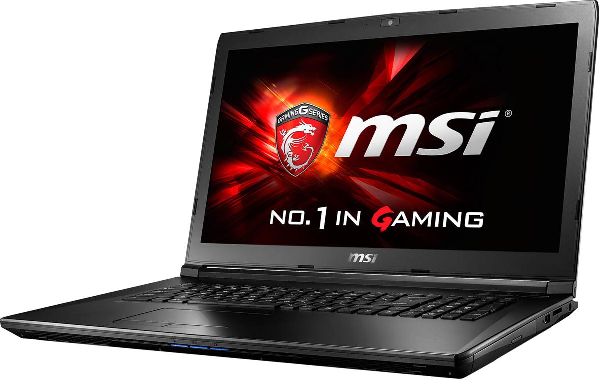 MSI GL72M 7REX-1481XRU, Black (9S7-1799E5-1481)9S7-1799E5-1481GL72M 7REX-1481XRU (MS-1799) 17.3 FHD(1920x1080) nonGLARE/Intel Core i7-7700HQ 2.80GHz Quad/8GB/1TB/GF GTX1050Ti 4GB/HM175/noDVD/WiFi/BT4.2/1.0MP/SDXC/6cell/2.70kg/DOS/1Y/BLACK