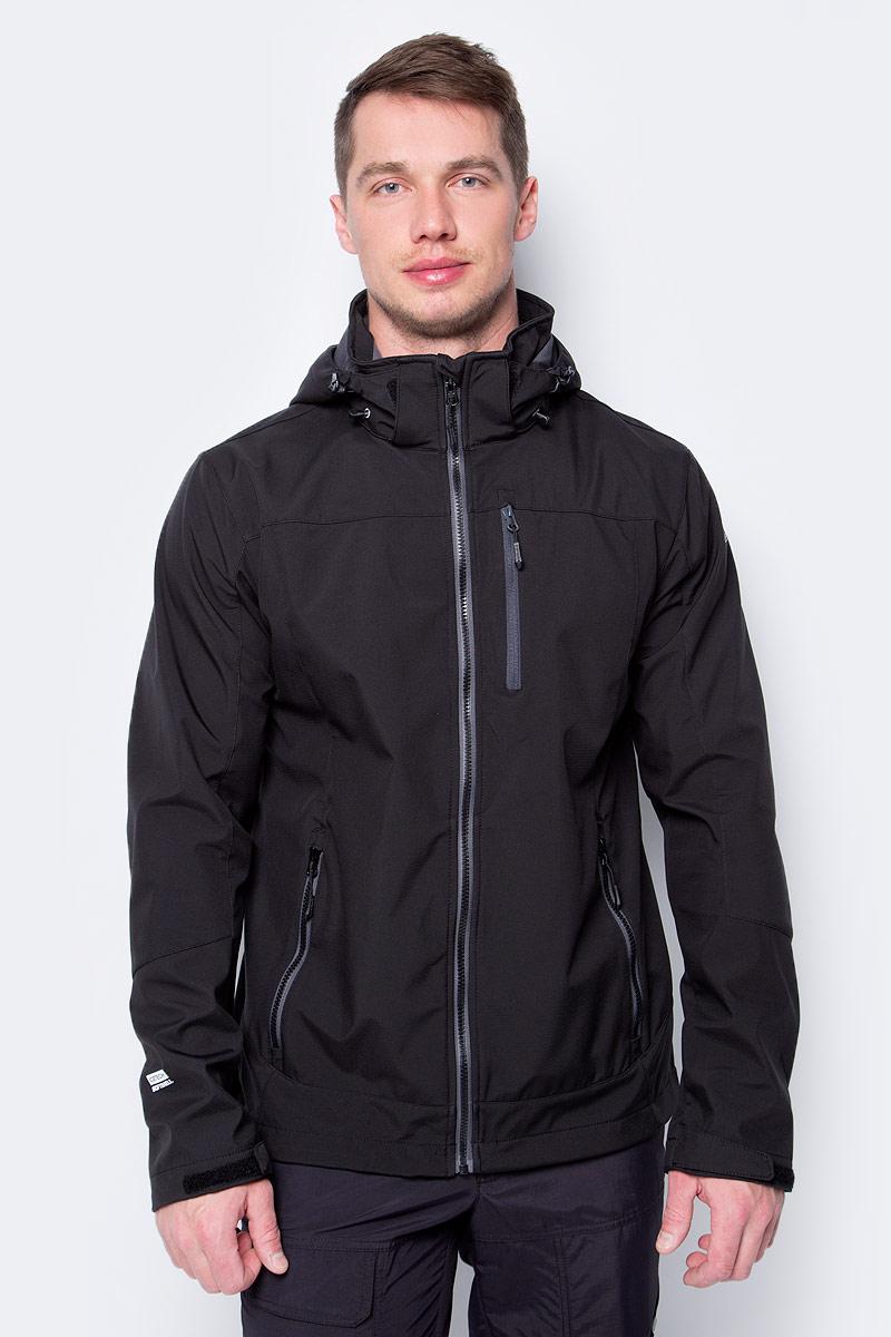 Купить Куртка мужская Icepeak, цвет: черный. 957920544IV_990. Размер XS (46)