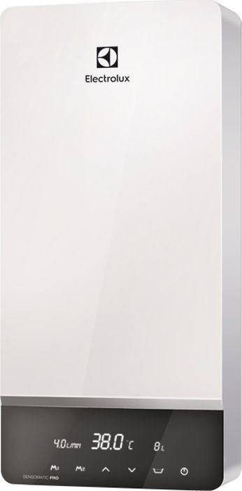 Electrolux NPX18-24SensomaticPro, White водонагреватель проточныйНС-1036902Электропитание 380 В. LCD-дисплей. Сенсорное управление. Активное управление протоком воды. Индикация температуры нагрева воды, индикация протока воды. Универсальная мощность: 12-15-18 или 18-21-24 кВт). Регулировка температуры с точностью до 1?С. Мощный спиральный нагревательный элемент из нержавеющей стали. Программирование 2 индивидуальных температур. Детский режим: нагрев до 36?С. Защита от ожогов. Электронный контроль температуры на входе и выходе. Система самодиагностики. Производительность: 5,7-11,5 л/мин. Гарантия – 2 года