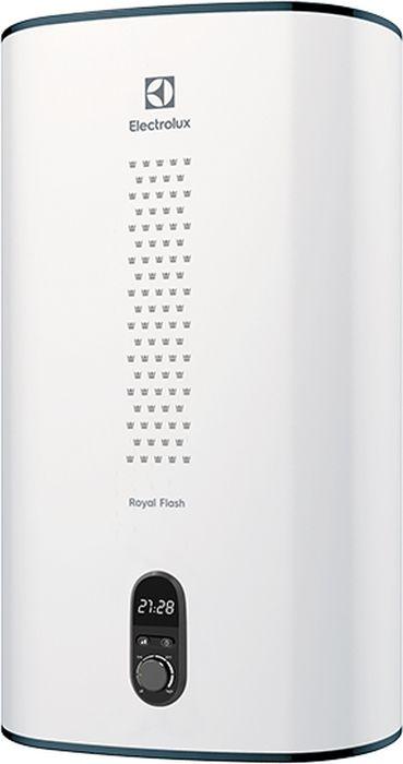 Водонагреватель Electrolux EWH 30 Royal Flash оснащен баком из высококачественной нержавеющей стали Inox Concept, который не подвержен  коррозии, что гарантирует долговечность эксплуатации. Конструкция данной модели предусматривает как горизонтальный, так и вертикальный  монтаж, что обеспечивает свободу планировки. С помощью таймера можно установить время, к которому прибор нагреет воду, что повышает  удобство использования.