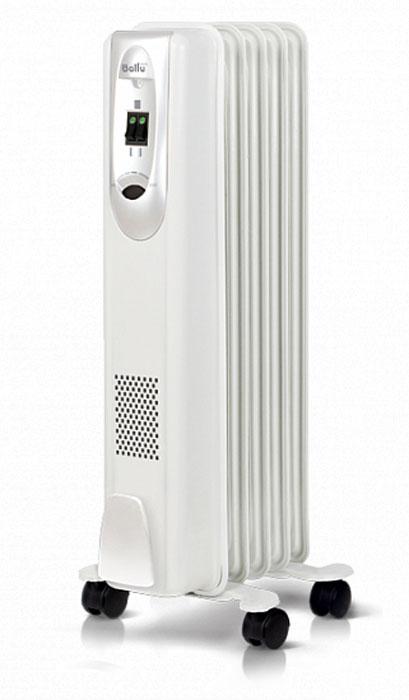 Ballu ComfortBOH/CM-05WDNмасляныйрадиаторНС-1071470Масляный радиатор Ballu BOH/CM-05WDN исполнен в прямоугольном корпусе с закругленными углами исовременной панелью управления. Модель оборудована 5 секциями, имеет мощность 1 кВт и три режима нагрева.Идеально подходит для помещений с площадью до 15 м2. Термостат нового поколения Opti-Heat оснащен функциейавтоматического поддержания температуры и эргономичным управлением. Прибор удобен в эксплуатации, егоможно легко перемещать из комнаты в комнату, благодаря специальной ручке и шасси, а также простоустанавливать на ножки конструкции High Stability с повышенной надежностью. Оптимальная форма перфорациина фронтальной стенке радиатора обеспечивает прибору эффективный обогрев и увеличивает срок его службы.