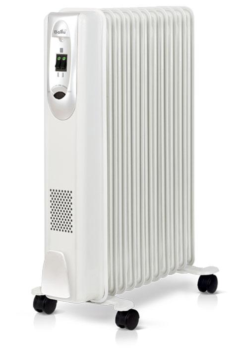 Ballu ComfortBOH/CM-11WDNмасляныйрадиаторНС-1071473Радиатор масляный Ballu BOH/CM-11WDN исполнен в прямоугольном корпусе с закругленными углами исовременной панелью управления. Модель оборудована 11 секциями, имеет мощность 2,2 кВт и три режиманагрева. Идеально подходит для помещений с площадью до 27 м2. Термостат нового поколения Opti-Heat оснащенфункцией автоматического поддержания температуры и эргономичным управлением. Прибор удобен вэксплуатации, его можно легко перемещать из комнаты в комнату, благодаря специальной ручке и шасси, а такжепросто устанавливать на ножки конструкции High Stability с повышенной надежностью. Оптимальная формаперфорации на фронтальной стенке радиатора обеспечивает прибору эффективный обогрев и увеличивает срокего службы.
