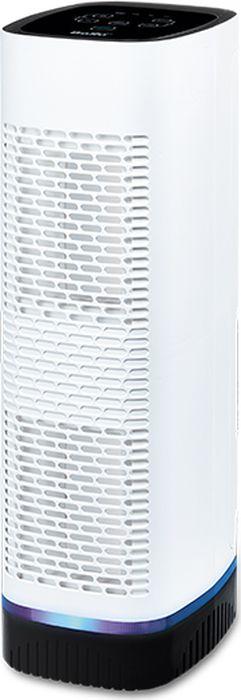 Ballu AP-110 очиститель воздухаНС-1073563Очиститель воздуха Ballu AP-110 создает комфортные условия для жизни в мегаполисе. Обеспечиваеткачественную очистку воздуха от грязи, пыли и аллергенов, информирует о текущем состоянии чистоты воздуха,обеззараживает воздух от вирусов, сигнализирует о необходимости замены фильтров. Благодаря низкомууровню шума при работе и возможности отключения световой индикации дисплея можно наслаждаться чистымвоздухом даже ночью.