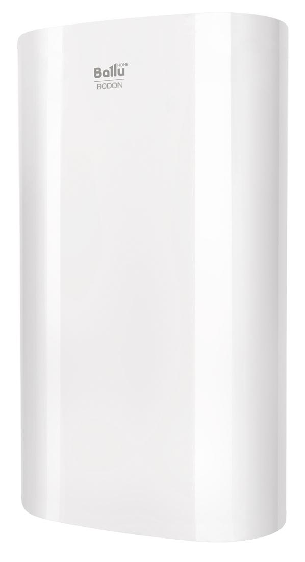 Электрический накопительный водонагреватель RODON с эргономичным плоским корпусом и возможностью универсального монтажа займет достойное место на вашей кухне или в ванной комнате. Удобная ручка регулировки температуры, расположенная на нижней крышке бака, индикатор нагрева воды, экономичный режим и гарантия 8 лет на бак из нержавеющей стали делают использование водонагревателя необычайно комфортным.  Характеристики: Внутренний бак из нержавеющей стали с высоким содержанием антикоррозийных элементов: никеля и хрома Универсальный монтаж Life-тест на 160 000 циклов – гарантия работы более 10 лет Нагревательный элемент из высококачественной меди Экономичный режим работы ECO-technology: защита от накипи, обеззараживание воды, повышенный ресурс нагревательного элемента Многоуровневая система безопасности: защита от сухого нагрева, защита от перегрева, защита от превышающего норму гидравлического давления через предохранительный сливной клапан Эффективная теплоизоляция (20 мм) Класс пылевлагозащищенности IPX4 Премиальная гарантия на внутренний бак – 8 лет Сделано в России