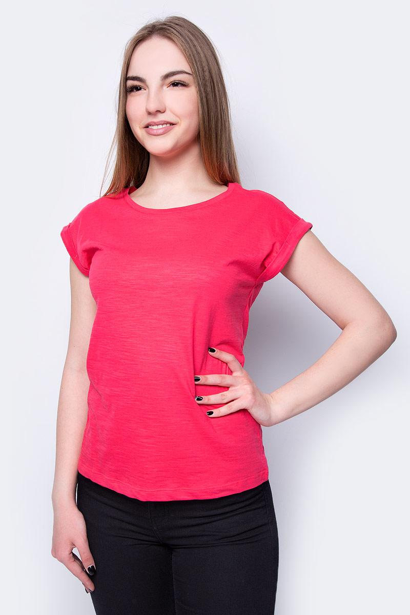 Футболка женская Sela, цвет: красный. Ts-111/344-8273. Размер XS (42)