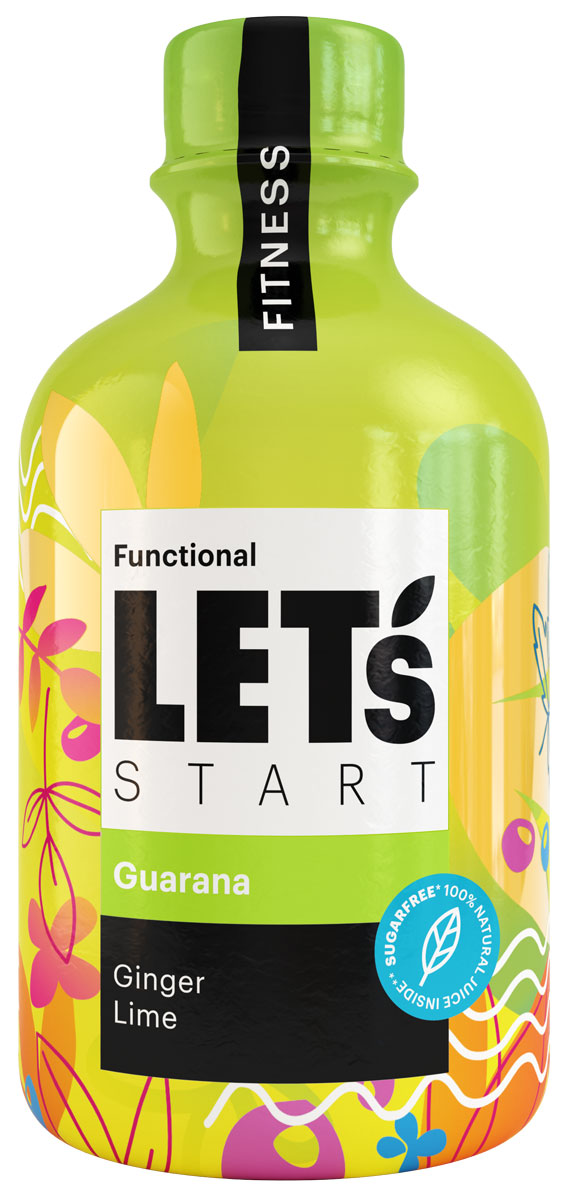 Let's Start Fitness Напиток безалкогольный на растительном сырье негазированный имбирь, лайм, 300 мл сибирская клетчатка mу body slim фитококтейль имбирь и корица 170 г
