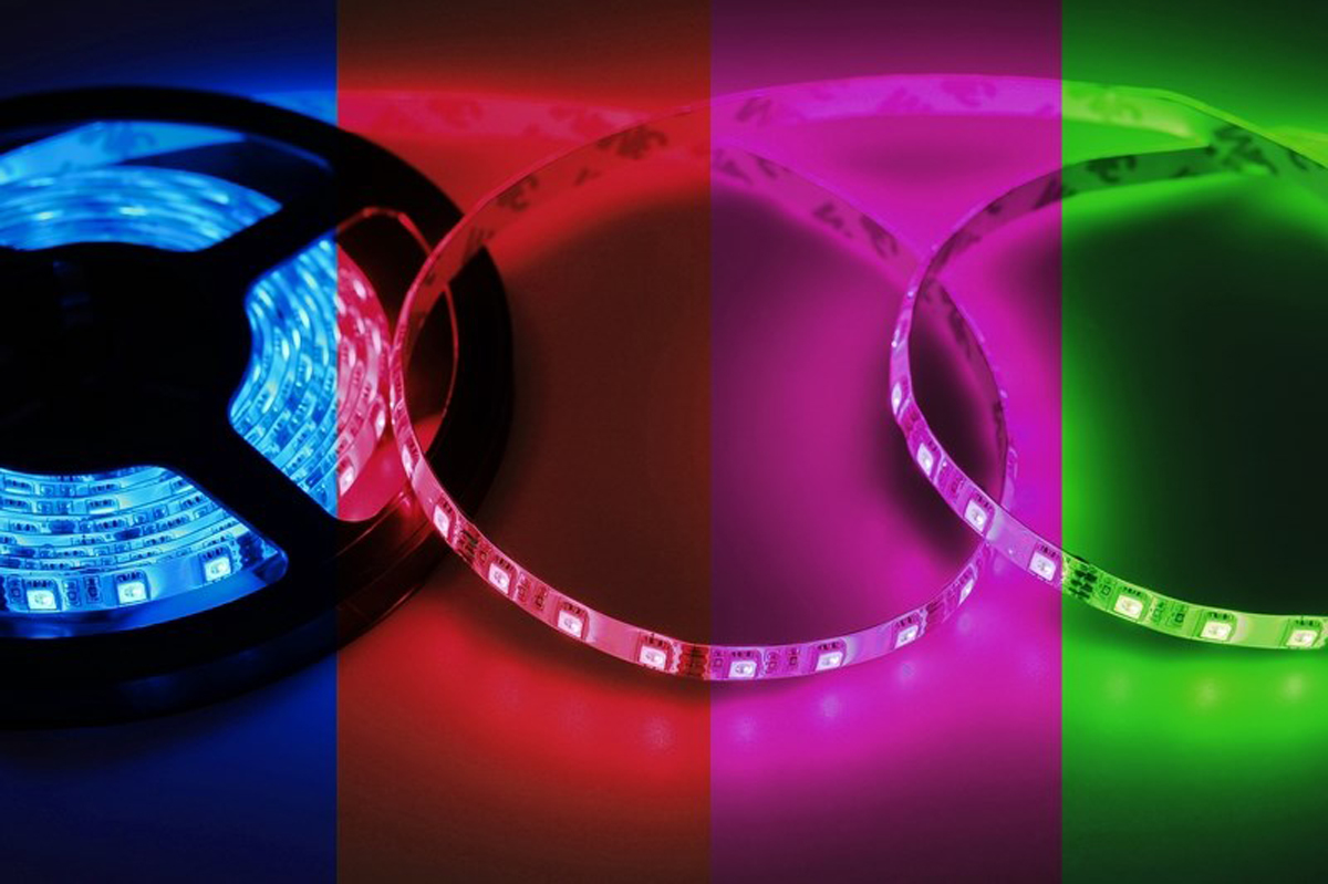 Светодиодная лента Neon-Night SMD 5050, 10мм, IP23, 60 LED/m, 12V, RGB