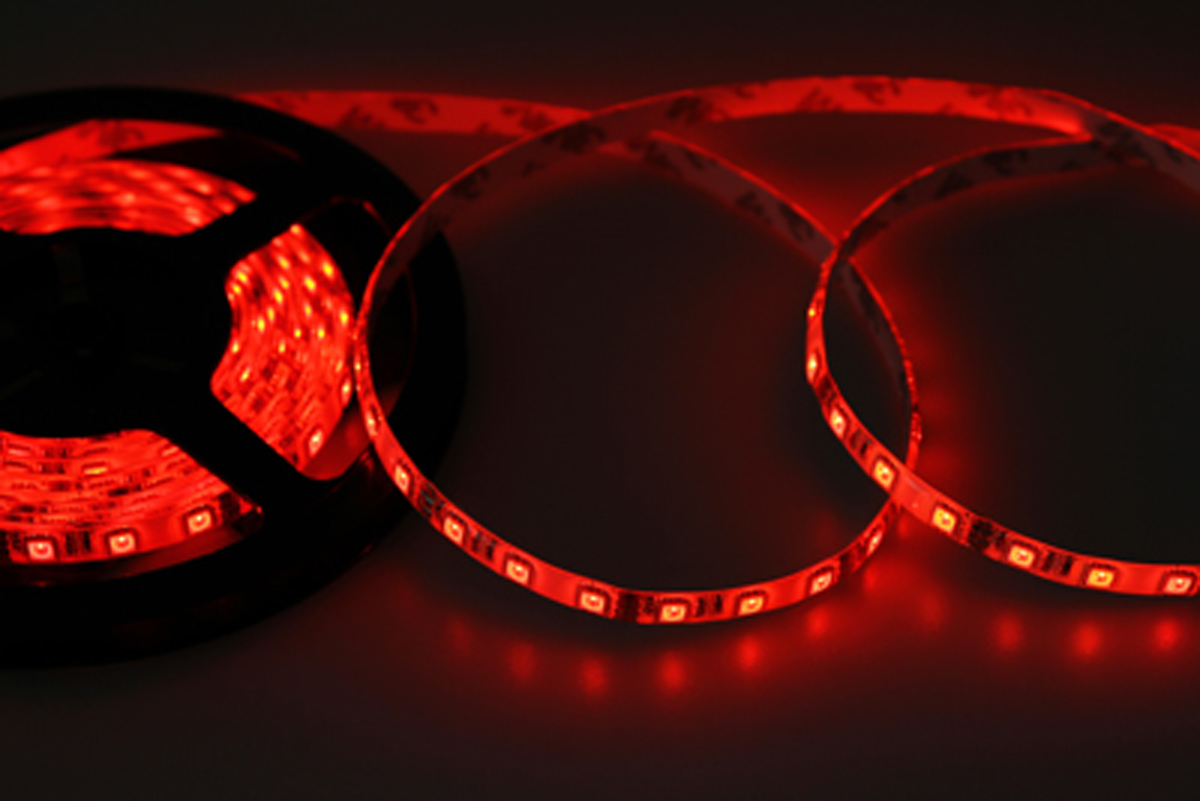 Светодиодная лента Neon-Night SMD 5050, силикон, 10мм, IP65, 60 LED/m, 12V, RGB лента светодиодная skyway 96 диодов s03201017