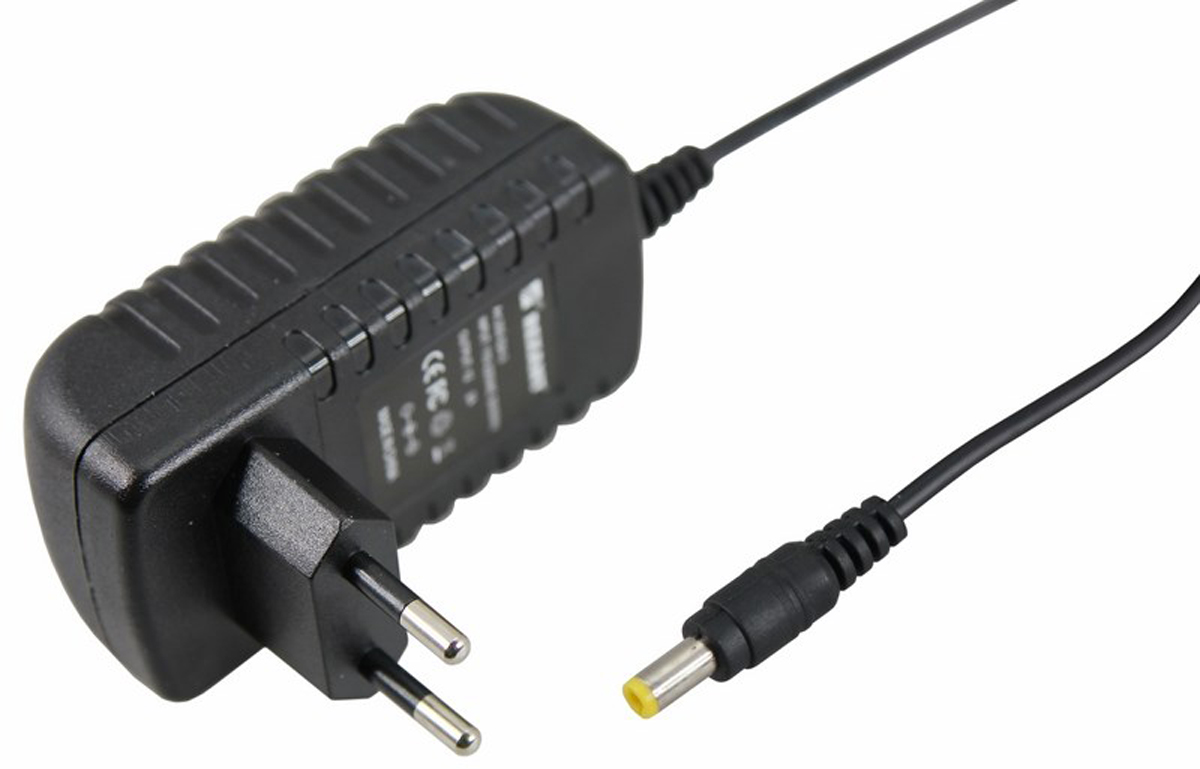 Источник питания можно использовать не только для LED продукции, но и для систем безопасности, видеонаблюдения и питания любых других низковольтных систем. Данная модель имеет мощность 24 Вт и DC разъем 5,5 x 2,1 мм для подключения.  Габаритные размеры мм: 84х43х31 (с вилкой 84х43х69)