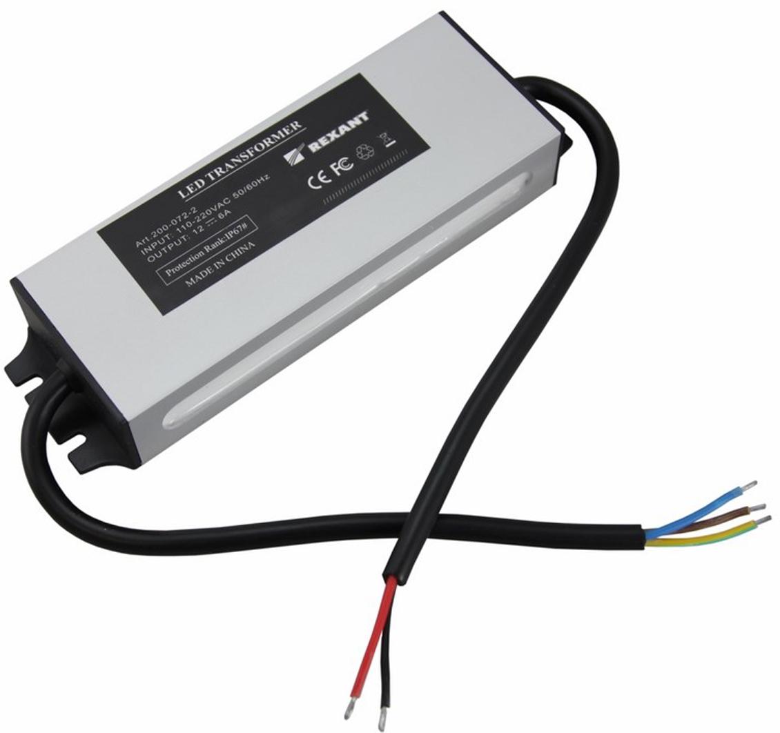 Источник питания можно использовать не только для LED продукции, но и для систем безопасности, видеонаблюдения и питания любых других низковольтных систем. Данная модель имеет мощность 72 Вт и провода для подключения.  Габаритные размеры мм: 134 х 50 х 25 ( с ушками 158 х 50 х 25).