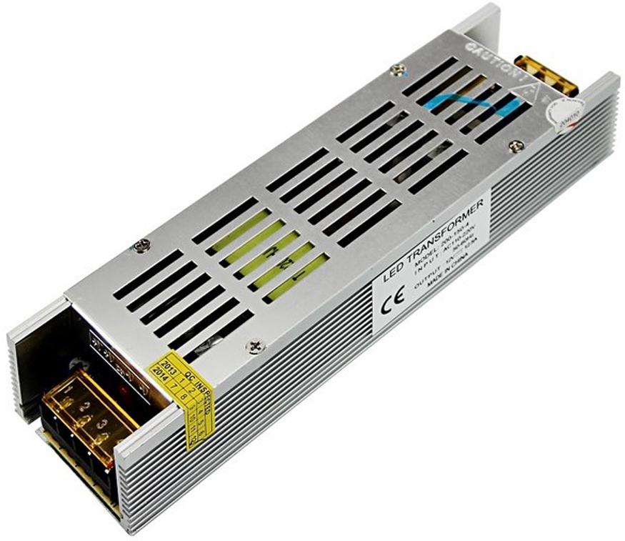 Блок питания для светильника Rexant, компактный 12V, 16,5A, 200W, с разъемами под винт, без влагозащиты200-200-4Источник питания можно использовать не только для LED продукции, но и для систем безопасности, видеонаблюдения и питания любых других низковольтных систем. Данная модель имеет мощность 200 Вт и разъемы под винт для подключения.