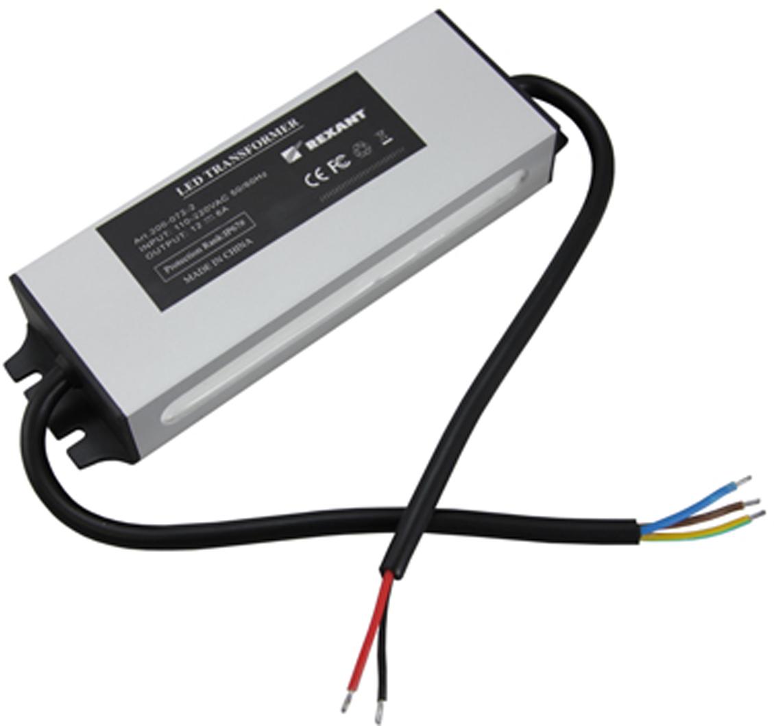 Блок питания для светильника Rexant, 3А, 72W, с проводами, влагозащищенный201-072-2Источник питания можно использовать не только для LED продукции, но и для систем безопасности, видеонаблюдения и питания любых других низковольтных систем. Данная модель имеет мощность 72 Вт и провода для подключения.
