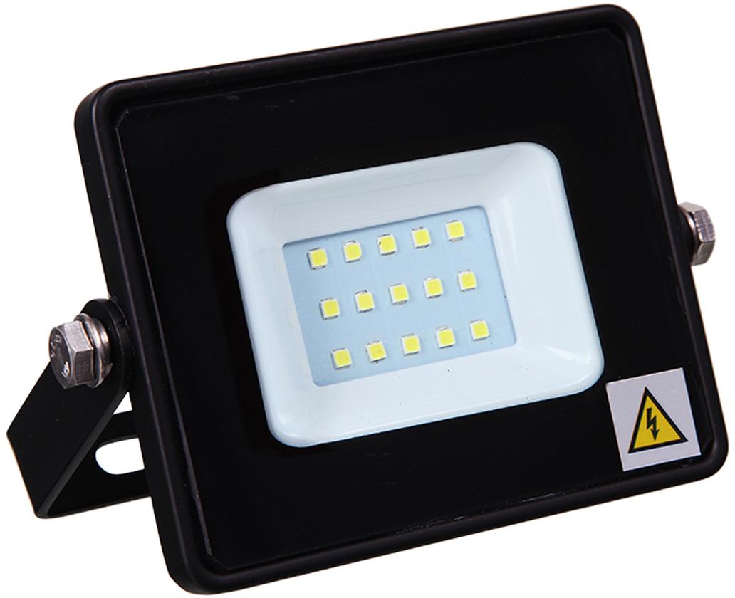 Прожектор уличный Lamper, светодиодный, теплый белый свет, 10 Вт