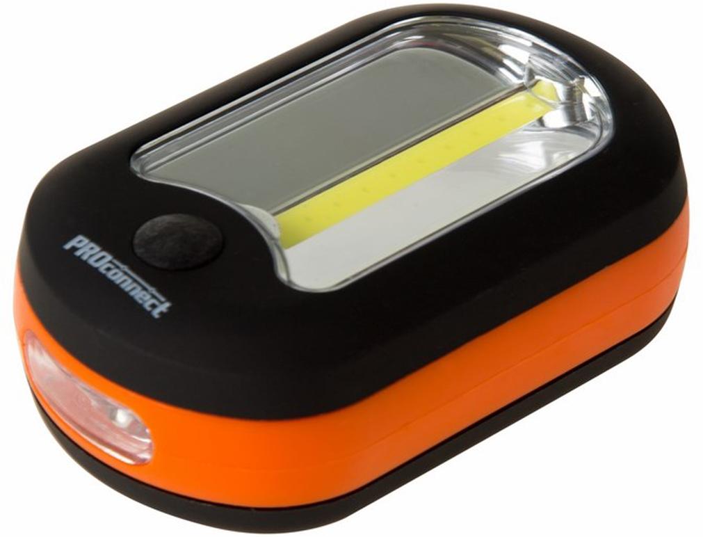 Фонарь ручной PROconnect PC-9775-0152Повседневный фонарь с креплением на магните и крюке. Удобный и практичный помощник в различных видах человеческой деятельности. Имеет рассеянный и направленный источники света.