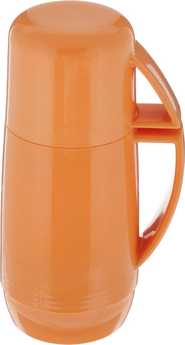 Термос Tescoma Family, с кружкой, цвет: персиковый, 150 мл