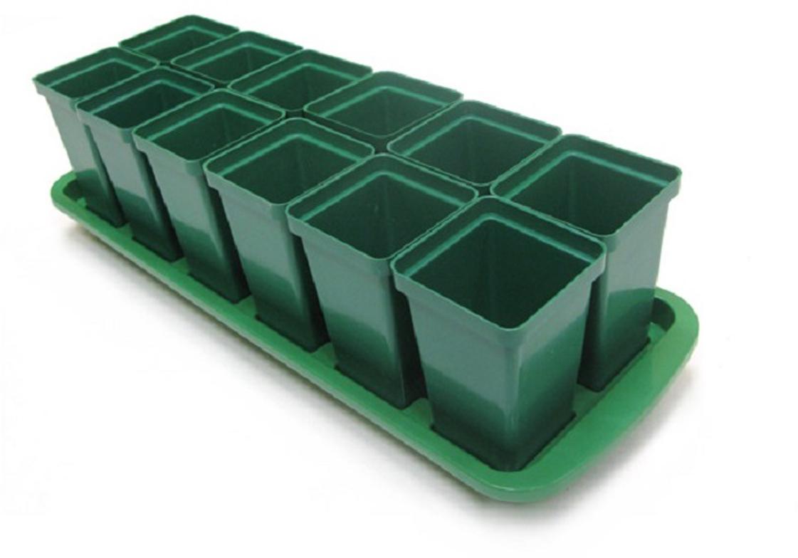 Набор предназначен для выращивания томатов, горшочки имеют выдвижное дно, что позволяет легко пересаживать рассаду в открытый грунт не травмируя корневую систему. Уважаемые клиенты! Обращаем ваше внимание на то, что товар в цветовом ассортименте. Поставка осуществляется в зависимости от наличия на складе.