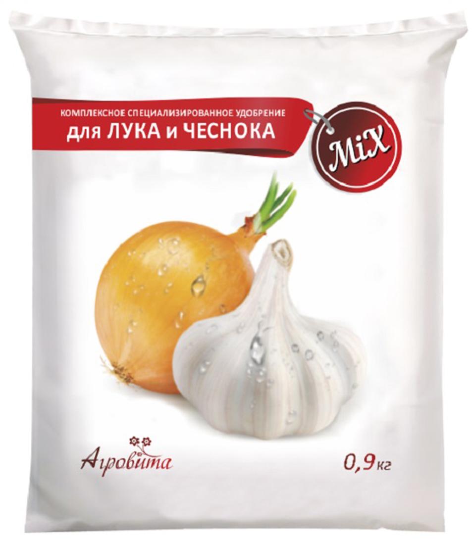 Удобрение Нов-Агро Агровита, для лука и чеснока, 0,9 кг удобрение агрикола 2 для лука и чеснока