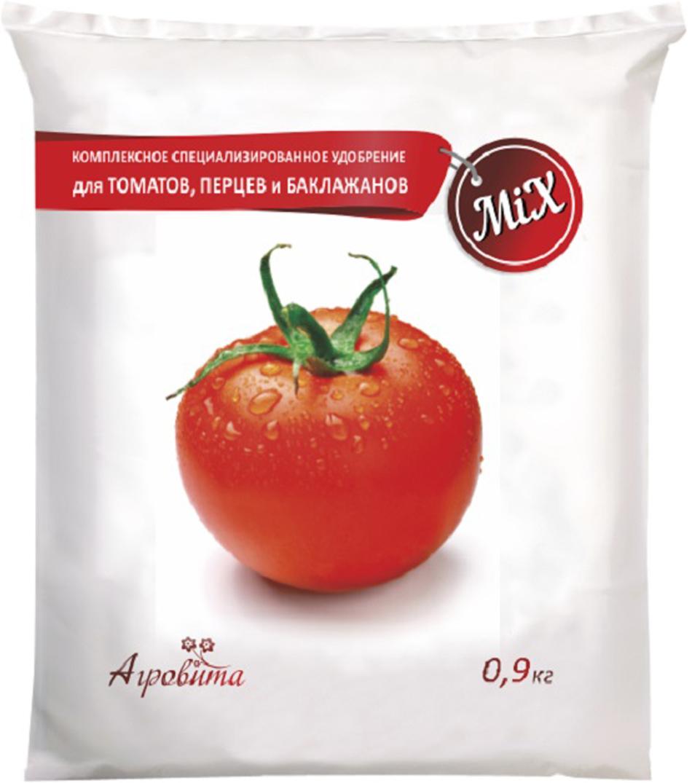 """Удобрение Нов-Агро """"Агровита"""" предназначено для основного внесения под томаты, перцы и баклажаны. Характеризуется средним содержанием азота и фосфора и повышенным - калия. Обеспечивает сбалансированное минеральное питание растений, способствует хорошему приросту биомассы и плодоношению. Содержание действующего вещества в удобрении: N-12%, P-10%, K-22%."""