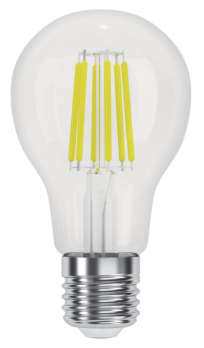 """Филаментные ретро-лампы """"Фотон"""" - это комфортное освещение за счёт использования светодиодов последнего поколения, высокой светоотдачи, цветопередачи и низкого уровня пульсации светового потока. Созданы на основе светодиодов, скомпонованных в виде нитей, создающих мягкое рассеянное освещение. Прозрачная стеклянная колба, такая же как используется в обычных лампах накаливания. Выглядят практически неотличимо от ламп накаливания, при этом обладают всеми преимуществами светодиодных ламп - экономия электроэнергии до 90% по сравнению с лампами накаливания и до 50% по сравнению с люминесцентными, срок службы в 15-30 раз дольше ламп накаливания и в 3-5 раз дольше компактных люминесцентных ламп, при этом он не зависит от количества включений.  На светодиодные лампы «ФОТОН» предоставляется гарантия 3 года, НЕ ТРЕБУЕТСЯ заполнение гарантийного талона с печатью / подписью продавца, гарантия является БЕЗУСЛОВНОЙ"""