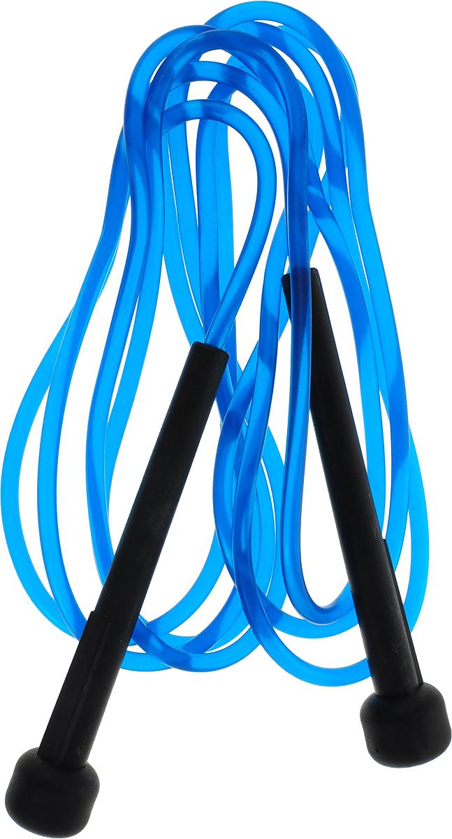 Скакалка Pro-Supra, цвет: синий, длина 2,8 м турник навесной pro supra черный 110 см