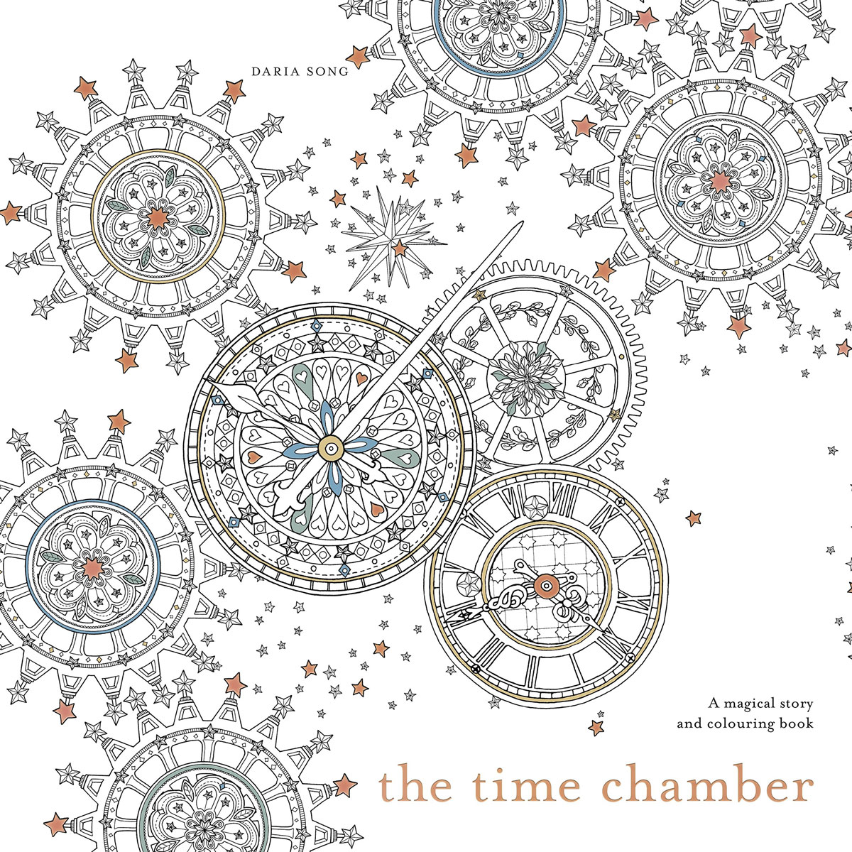The Time Chamber: A magical story and colouring book winter wonderland a magical colouring adventure