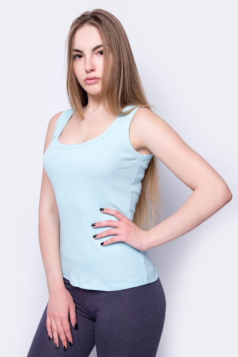 Топ женский Sela, цвет: голубой. Tsl-111/343-8273. Размер XXS (40) sela tsl 111 161 7225