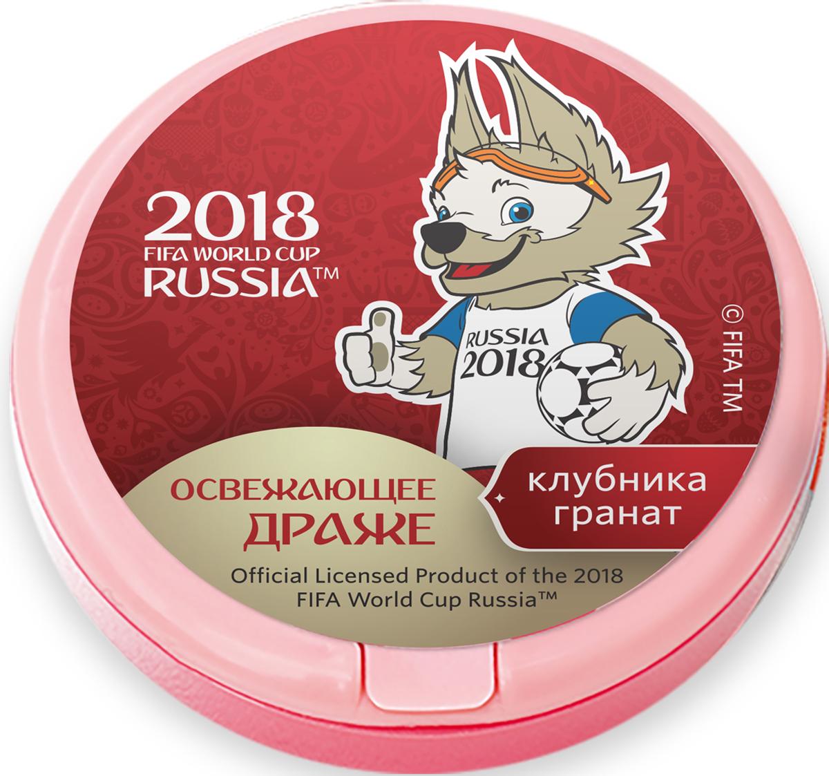 Конфитрейд ЧМ 2018 драже освежающее в ассортименте, 12 г