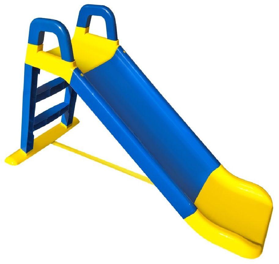 Doloni Горка для катания детей цвет желтый синий 0140 smoby детская горка king size цвет красный