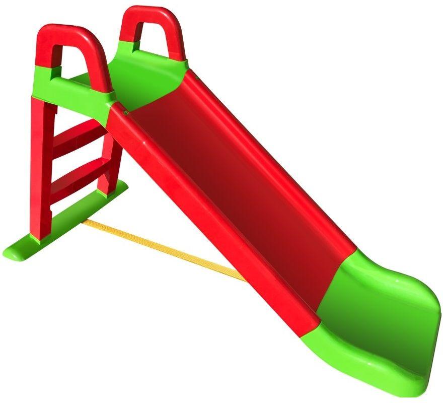 Doloni Горка для катания детей цвет зеленый красный 0140