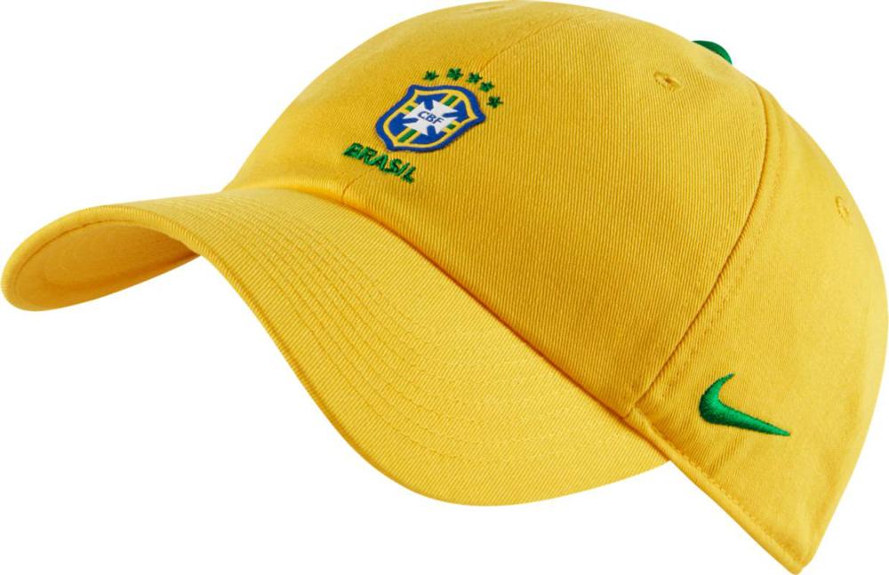 Купить Бейсболка Nike CBF H86 Cap Core, цвет: желтый. 881711-749. Размер универсальный