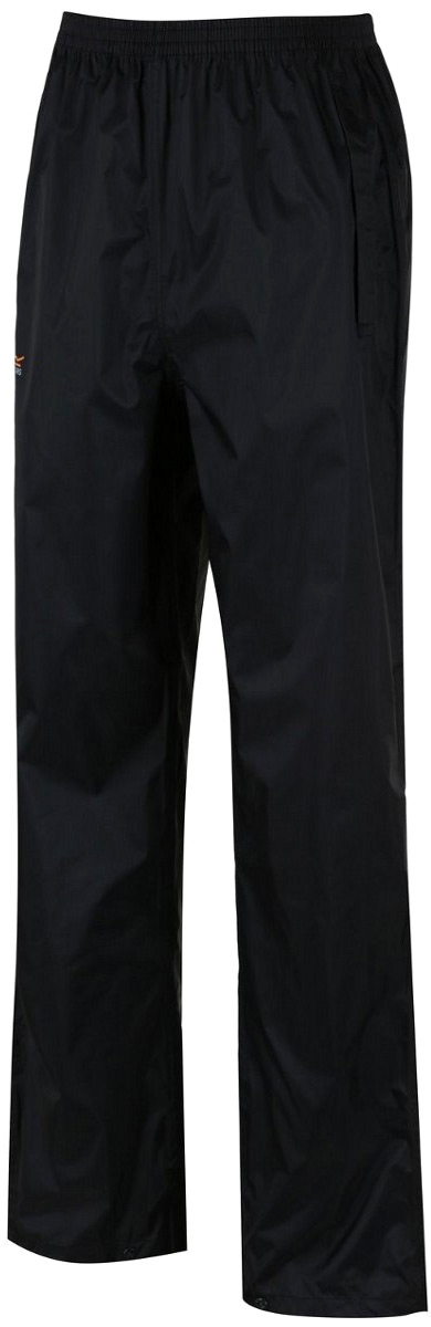 Брюки мужские Regatta Pack It O/Trs, цвет: черный. RMW149-800. Размер L (52/54) брюки мужские regatta xert str trs ii цвет черный rmj177 800 размер 56
