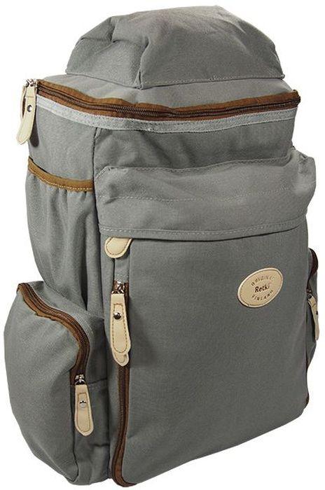 Рюкзак Retki Nomad 26, цвет: серый, коричневый, объем 20 л рюкзак xtralight 2 0 furtiv 20 литров