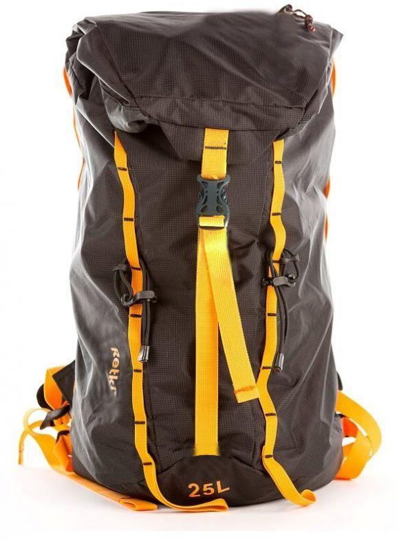 Рюкзак Retki Ultralight Backpack, цвет: черный, оранжевый, 25 лR5347Сверхлегкий и универсальный рюкзак, объёмом 25 л. Материал: прочный и лёгкий нейлон Ultra 200D Ripstop, который прекрасно защитит ваши вещи от самых сложных погодных условий. Удобная система регулировок, карман на молнии в верхнем клапане, стропы для крепления подвесного оборудования.