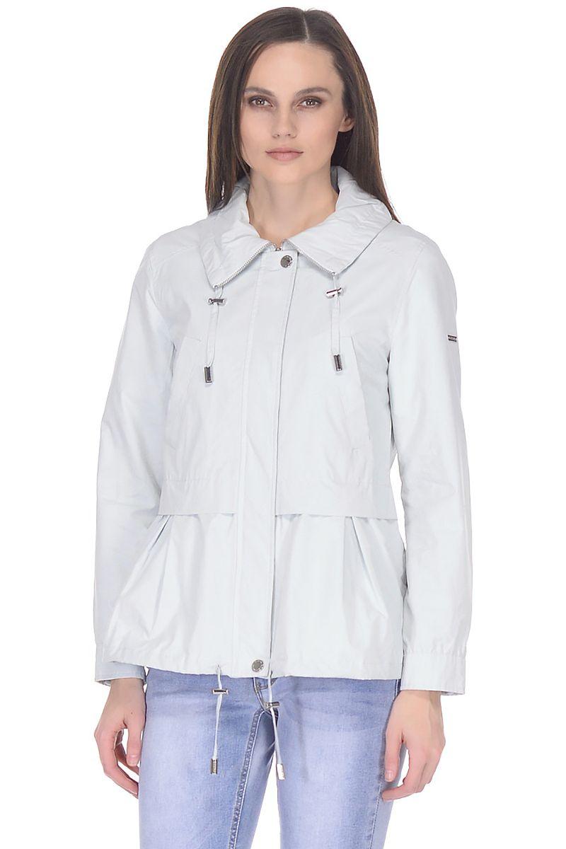 Купить Ветровка женская Baon, цвет: голубой. B108009_Ice. Размер XL (50)