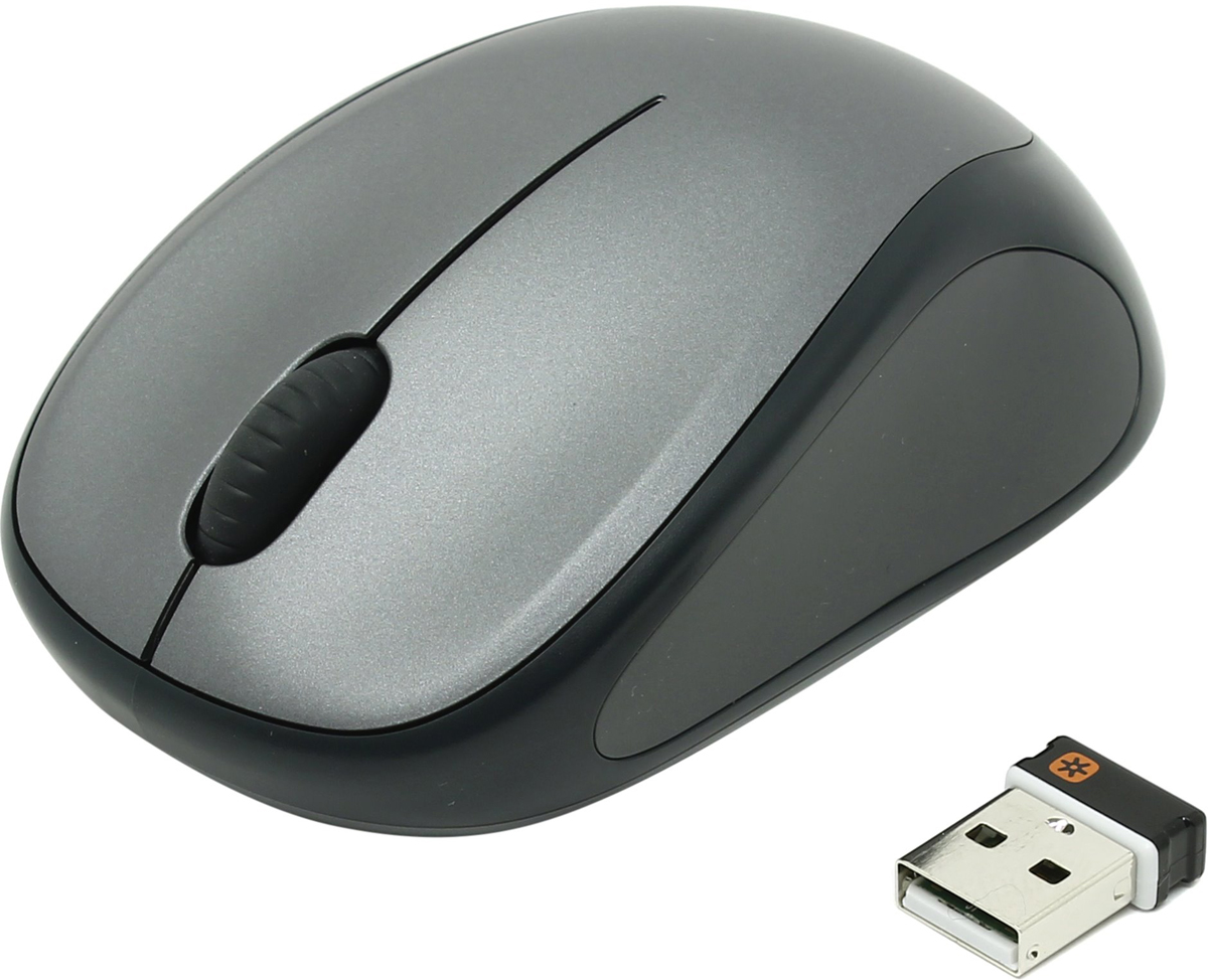 Logitech Wireless M235 Colt Matte мышь беспроводная910-002201Mouse Logitech Wireless M235 Colt Matte ( 1000dpi, optical, FM, 3btn+Roll, 1xAA,  Unifying™reciever) Retail
