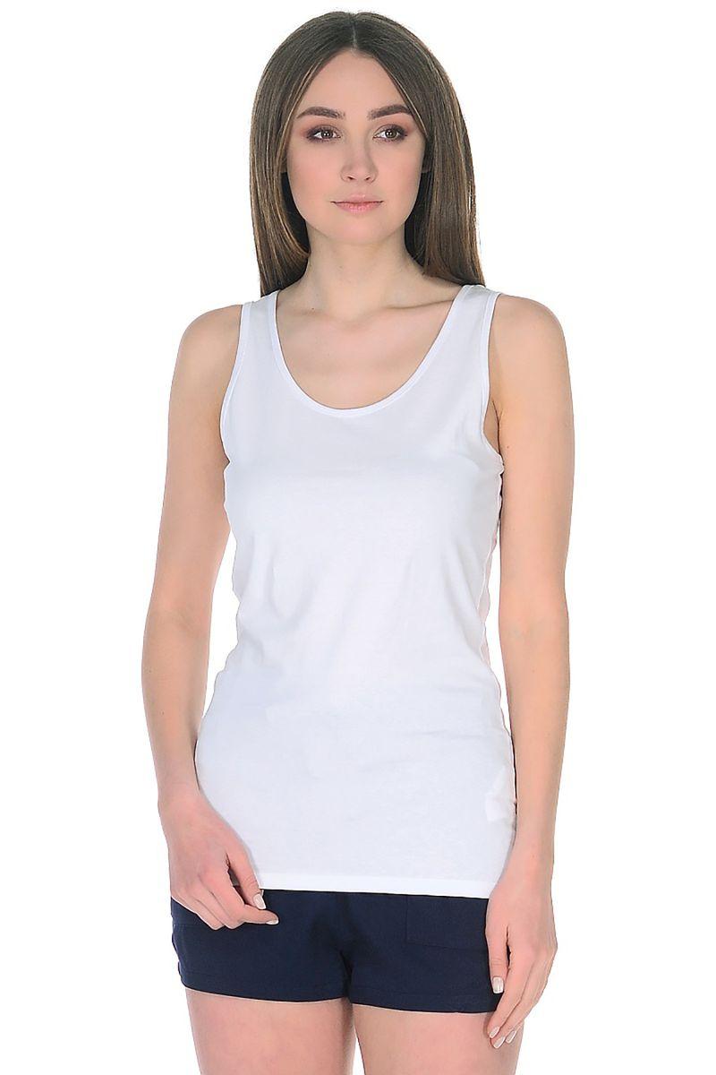 Майка женская Baon, цвет: белый. B258204_White. Размер XL (50)