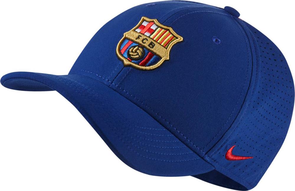 Купить Бейсболка Nike FCB Arobill CLC99 Cap, цвет: синий. 916570-455. Размер универсальный