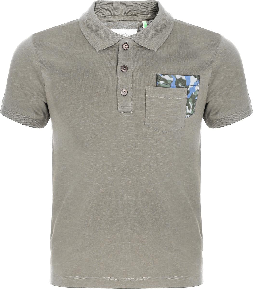 Поло для мальчика Sela, цвет: светло-зеленый. Tsp-811/286-8213. Размер 146, 11 лет sela рубашка поло для мальчика sela