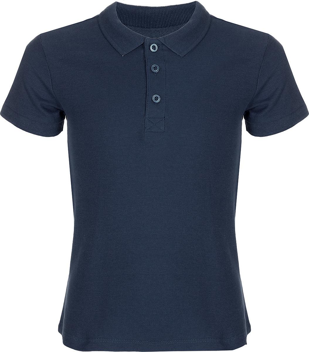 Поло для мальчика Sela, цвет: синий. Tsp-811/311-8152. Размер 152, 12 лет sela рубашка поло для мальчика sela