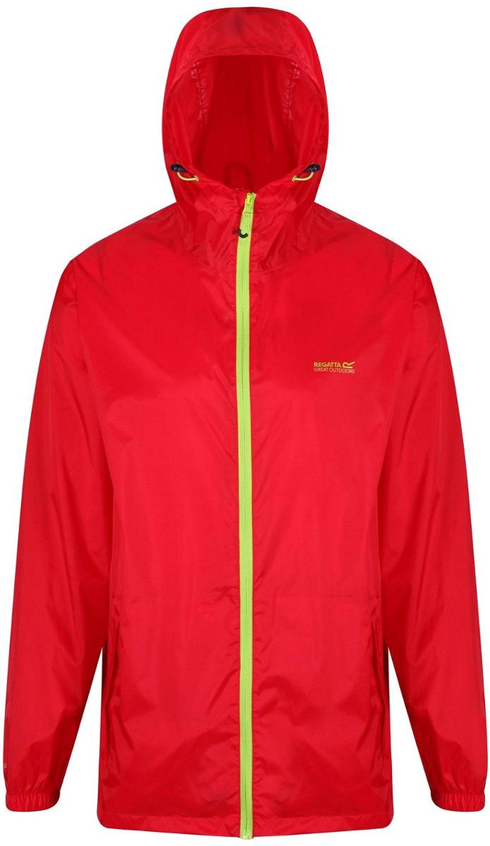Ветровка мужская Regatta Pack It Jkt III, цвет: красный. RMW281-9Y6. Размер XXL (58/60) резиновые сапоги mon ami mon ami mo151awanru6