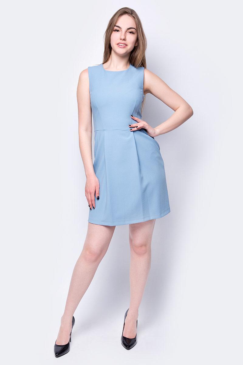 Платье adL, цвет: синий. 12433508000_003. Размер XS (40/42) платье adl adl ad005ewzad66